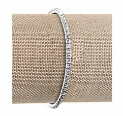 Swarovski Crystal Tennis Bracelet (smallest stone version)