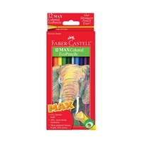 12 count MAX Colored Eco-Pencils, by Faber-Castell