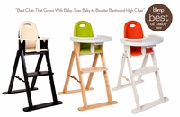Baby to Booster Bentwood High Chair, by Svan