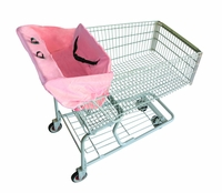 Pink Lemonade, Shopping Cart Cover, by 2 Red Hens