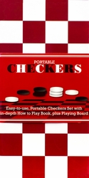 Portable Checkers, by Parragon Books