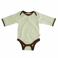 Soy Long-Sleeve Basic Bodysuit by Baby Soy
