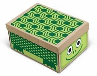 'Turtle' Shoebox Sticker, by Box Play
