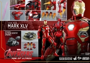 "12"" Avengers Age of Ultron Iron Man Mark XLV 1/6th Scale Action Figure Hot Toys Diecast Series (Mark 45)"