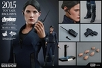 """12"""" Avengers Age of Ultron Maria Hill 1/6th Scale Action Figure Hot Toys 2015 Toy Fair Exclusive"""