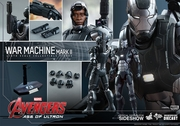 "12"" Avengers Age of Ultron War Machine Mark II 1/6th Scale Action Figure Hot Toys Diecast Series"