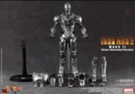 "12"" Iron Man 2 Mark II Armor Unleashed Version 1/6th Scale Action Figure Hot Toys (Mark 2)"