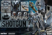 "12"" Iron Man 3 Mark XL Shotgun 1/6th Scale Action Figure Hot Toys 2015 Toy Fair Exclusive (Mark 40)"