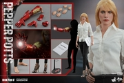 "12"" Iron Man 3 Pepper Potts 1/6th Scale Action Figure Hot Toys"