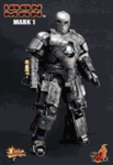 "12"" Iron Man Mark I 1/6th Scale Action Figure Hot Toys (Mark 1)"