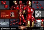 "12"" Iron Man Mark III 1/6th Scale Action Figure Hot Toys Diecast Series (Mark 3) Special Exclusive"