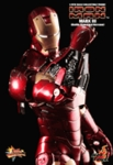 "12"" Iron Man Mark III Battle Damaged Version 1/6th Scale Action Figure Hot Toys (Mark 3)"