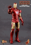 "12"" Iron Man Mark III 1/6th Scale Action Figure Hot Toys (Mark 3)"