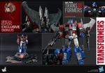 "12"" Transformers Optimus Prime 1/6th Scale Action Figure Hot Toys (Starscream Version) Special Exclusive"