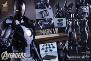 "12"" Iron Man Mark VII 1/6th Scale Action Figure Hot Toys Movie Masterpiece Series (Mark 7) Stealth Mode Verson"