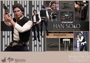 "12"" Star Wars Episode IV A New Hope Han Solo 1/6th Scale Action Figure Hot Toys Special Exclusive"