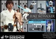 "12"" Star Wars Episode IV A New Hope Luke Skywalker 1/6th Scale Action Figure Hot Toys Special Exclusive"