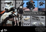 """12"""" Star Wars Episode IV A New Hope Sandtrooper 1/6th Scale Action Figure Hot Toys"""