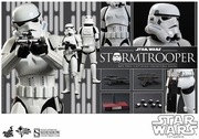 """12"""" Star Wars Episode IV A New Hope Stormtrooper 1/6th Scale Action Figure Hot Toys"""