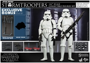 "12"" Star Wars Episode IV A New Hope Stormtrooper Figures Set 1/6th Scale Action Figure Hot Toys Special Exclusive Version"