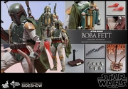 "12"" Star Wars Episode VI Return of the Jedi Boba Fett Deluxe Version 1/6th Scale Action Figure Hot Toys"