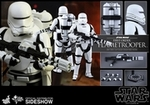 "12"" Star Wars Force Awakens First Order Flametrooper 1/6th Scale Action Figure Hot Toys"