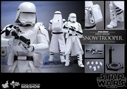 "12"" Star Wars Force Awakens First Order Snowtrooper 1/6th Scale Action Figure Hot Toys"
