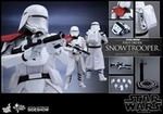 "12"" Star Wars Force Awakens First Order Snowtrooper Officer 1/6th Scale Action Figure Hot Toys"