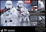 "12"" Star Wars Force Awakens First Order Snowtroopers 1/6th Scale Action Figure Hot Toys"
