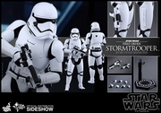 "12"" Star Wars The Force Awakens First Order Stormtrooper 1/6th Scale Action Figure Hot Toys"