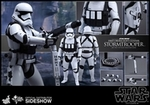 "12"" Star Wars The Force Awakens Heavy Gunner Stormtrooper 1/6th Scale Action Figure Hot Toys"