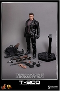 "12"" Terminator 2: Judgment Day T-800 1/6th Scale Action Figure Hot Toys DX10"