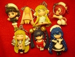 Chobits Keychain Figures Set of 7