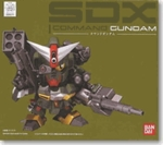 Chogokin SDX Command Gundam Action Figure Bandai