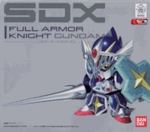 Chogokin SDX Full Armor Knight Gundam Action Figure Bandai