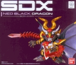 Chogokin SDX Neo Black Dragon Gundam Action Figure Bandai