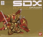 Chogokin SDX Superior Dragon Gundam Action Figure Bandai