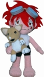 "Cowboy Bebop 8 "" Inches Plush Doll - Ed with Ein"