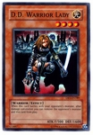 DR1-EN189 D. D. Warrior Lady Super Rare