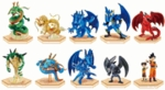 Dragon Ball Z Trading Figure Set of 10 Blue Dragon Bandai