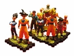 Dragonball Z Gashapon Capsule Figures Set of 10 Dragon Ball