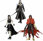 Final Fantasy VII Advent Children Action Figure Set of 3