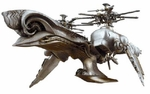 Final Fantasy VII Advent Children Sierra Aircraft Replica Action Figure