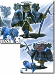 Final Fantasy X-2 Heretic Monsters Action Figure Heretic Yojimbo