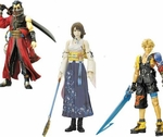 Final Fantasy X Action Figure Set of 3