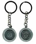 Fullmetal Alchemist Double Sided Metal Keychain Full Metal