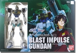 GQ Model Blast Impulse Gundam Metal Material Action Figure