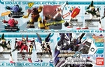 Gundam Gashapon Capsule Figure Series 27 Set of 6