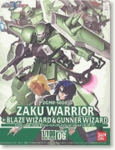HG Gundam Seed Destiny # 06 Zaku Warrior + Blaze & Gunner 1/100 Model Kit