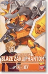 HG Gundam Seed Destiny # 07 Blaze Zaku Phantom Heine 1/100 Model Kit